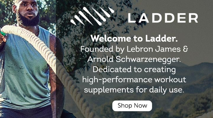 Ladder - Dedicated to creating high-performance workout supplements for daily use  BETTER EVERY DAY