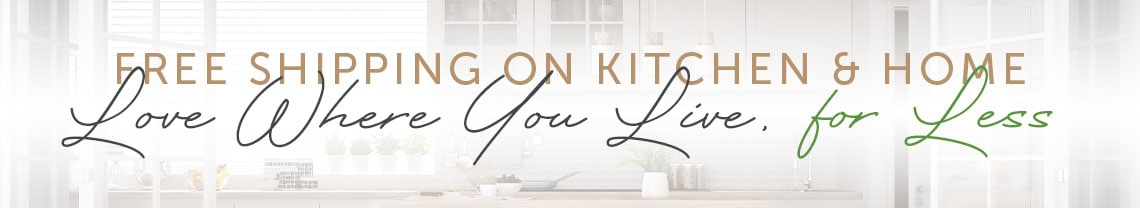 Free Shipping on Kitchen & Home Love Where You Live, for Less