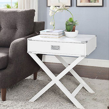 Milton Green Exclusive Premiere Pricing 492-352 Milton Green Stars Meghan End Table w Drawer