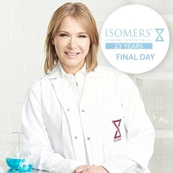 ISOMERS Skincare Celebrate with Savings