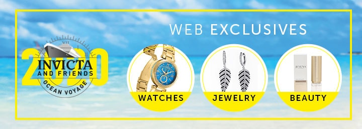 Invicta & Friends Ocean Voyage  Web Exclusives Watches Jewelry Fashion