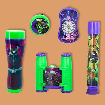 For Kids & Grandkids Help Them Learn, Play, & Grow - 498-901 Nickelodeon TMNT 5-Piece Adventure Kit