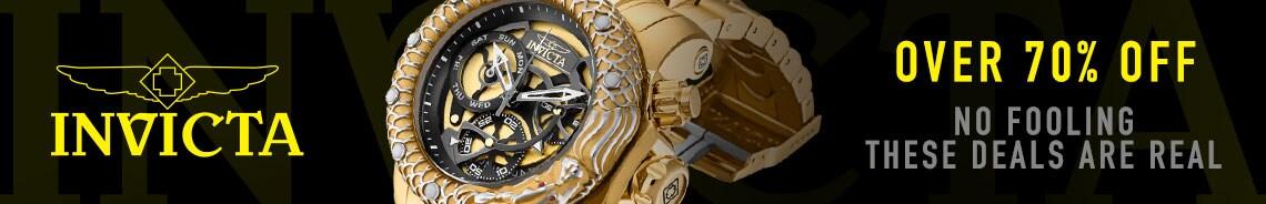 676-840 Invicta 52mm Venom Subaqua Dragon Quartz Chronograph Bracelet Watch