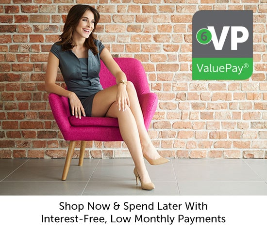 Shop Now & Spend Later With Interest-Free, Low Monthly Payments