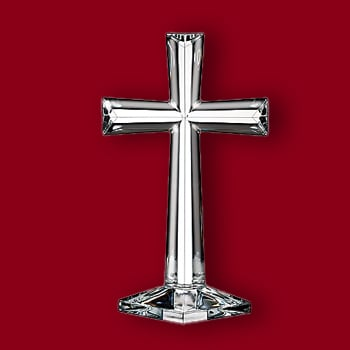 Home & Kitchen Gifts Under $100 Wrap Up The Holiday WOW - 467-934 Marquis by Waterford Selah 10 Crystal Standing Cross
