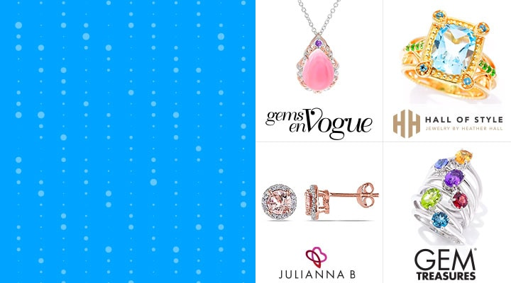188-705  | Gems en Vogue 187-471  | Hall of Style 184-333  | Jules by Julianna B. 191-840  | Gem Treasures