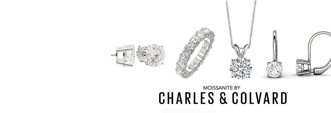Give the Gift of Sparkle with Moissanite, The World's Most Brilliant Gem & Enjoy Savings Up to 70% Off  Plus, Take an Additional 15% off Orders $75+ with Code: HOLIDAY15 Limited Time Free Shipping! 177-202 Moissanite by Charles & Colvard 14K Gold Leverback Drop Earrings