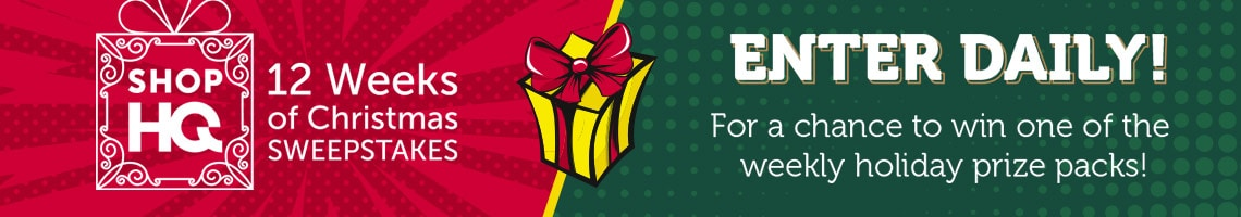 12 Weeks of Christmas Sweepstakes  Enter Daily For a Chance to Win a Weekly Holiday Prize Pack