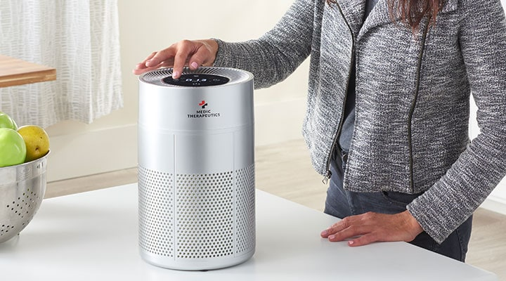 003-022 - Medic Therapeutics Ultra Silent UVC Portable Air Purifier