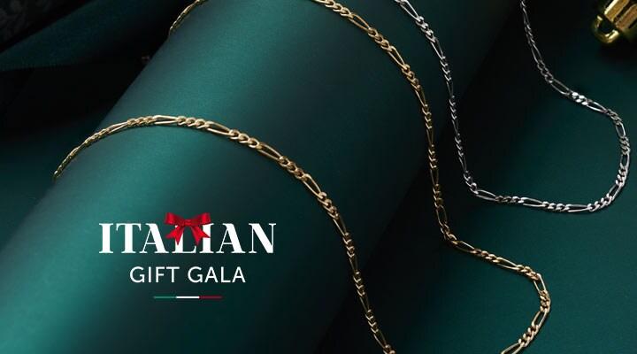 193-709 - TTV Presale Toscana Italiana 18K Gold or Platinum Embraced Herringbone Chain Choice of Length Necklace