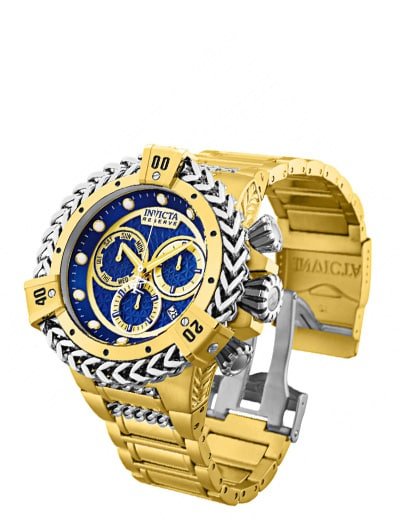Invicta Collectors Room For the Connoisseur Who Has It All at ShopHQ 672-226 Invicta Reserve Men's 56mm Bolt Hercules Swiss Quartz Chronograph Bracelet Watch