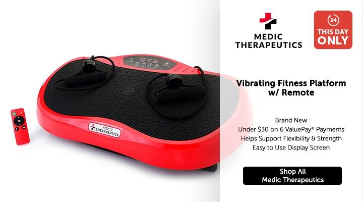 002-701 - Medic Therapeutics Vibrating Fitness Platform w Remote