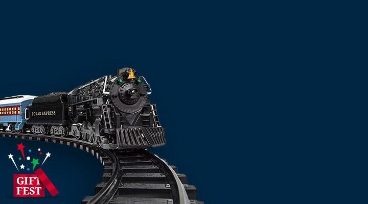 Lionel Trains - 464-886 Lionel Trains Polar Express Ready-to-Play Large Gauge Train Set