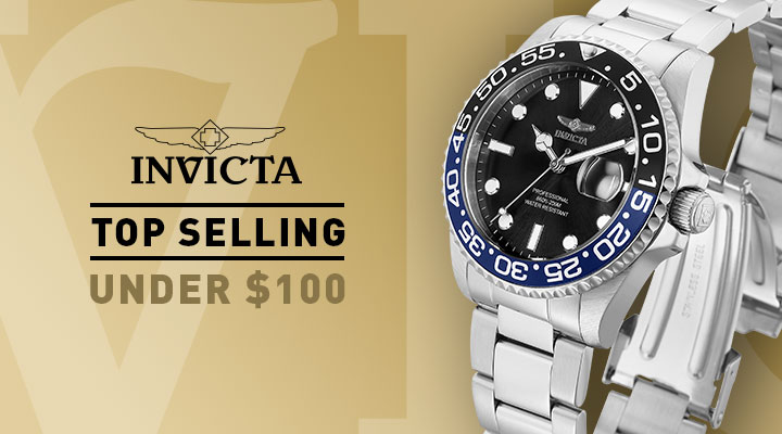 681-538 Invicta Set of 2 38mm & 42mm Pro Diver Quartz Stainless Steel Bracelet Watches