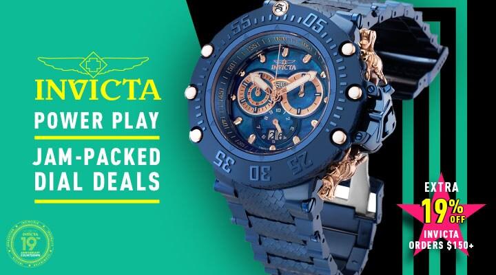 679-354 Invicta Men's 52mm Subaqua Noma VII Shutter Swiss Quartz Chronograph Bracelet Watch