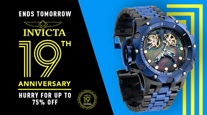 679-710 Invicta Reserve Men's 52mm Venom Hybrid Automatic Double Open Heart Bracelet Watch