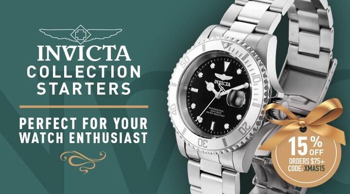 681-501 Invicta 40mm Pro Diver Quartz Stainless Steel Bracelet Watch w 3-Slot Dive Case