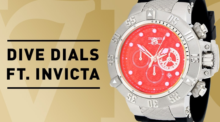Dive FT. Invicta 683-059 Invicta Men's 50mm Subaqua Noma III Quartz Chronograph Tinted Crystal Strap Watch