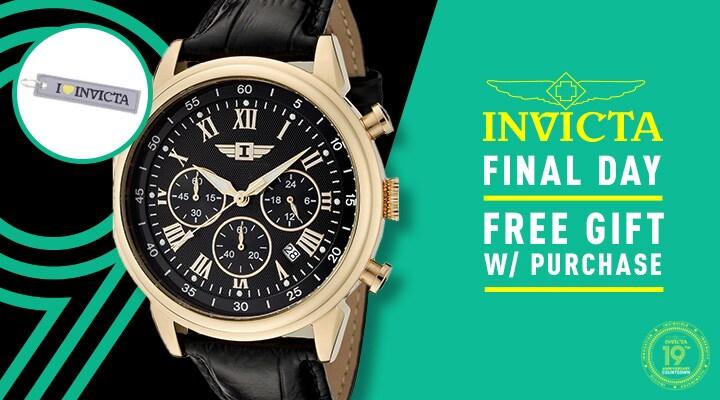 659-454  Invicta Men's 44mm I by Invicta Quartz Chronograph Date Leather Strap Watch