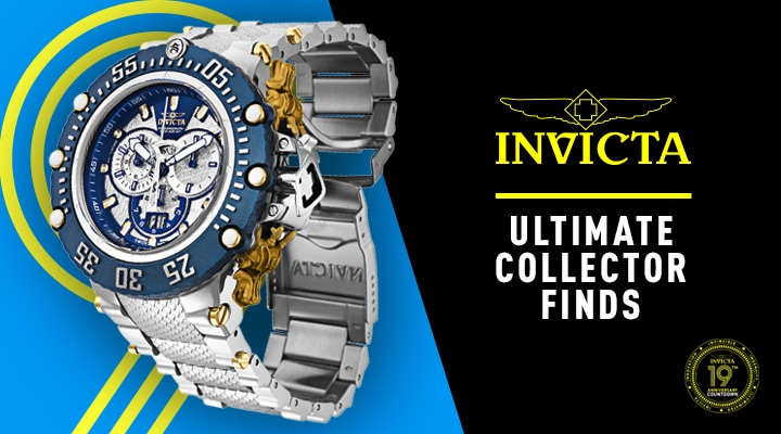 673-624 Invicta Men's 52mm Subaqua Noma VII Swiss Quartz Chronograph Meteorite Bracelet Watch