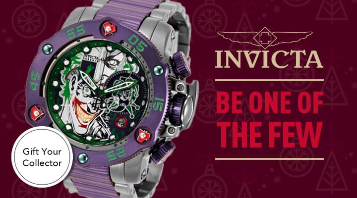 Invicta Reserve Be One of The Few - 681-504 Invicta Reserve DC Comics Men's 52mm Sea Hunter Propeller Limited Edition Swiss Quartz Watch