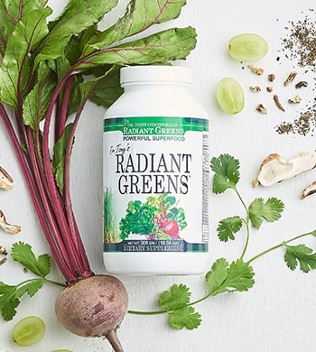 Radiant Greens Shop the Premiere 002-598 Dr. Tony's Superfoods Radiant Greens Dietary Supplement (30-Day Supply)