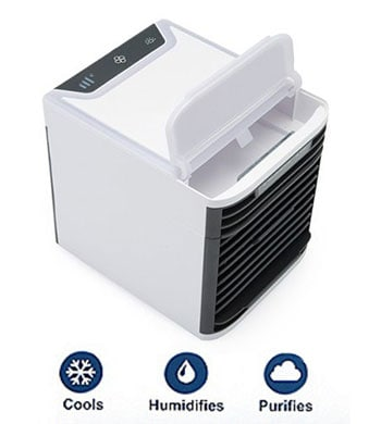 As Seen on TV Innovative & Popular Summer Products 492-915 Arctic Air Advanced Portable Personal Evaporative Air Cooler 2 Pack