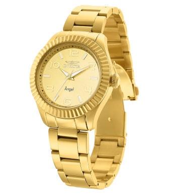 658-787 - Invicta Women's Angel Quartz Stainless Steel Bracelet Watch