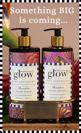 Glow Home Apothecary by MacKenzie-Childs Preview!