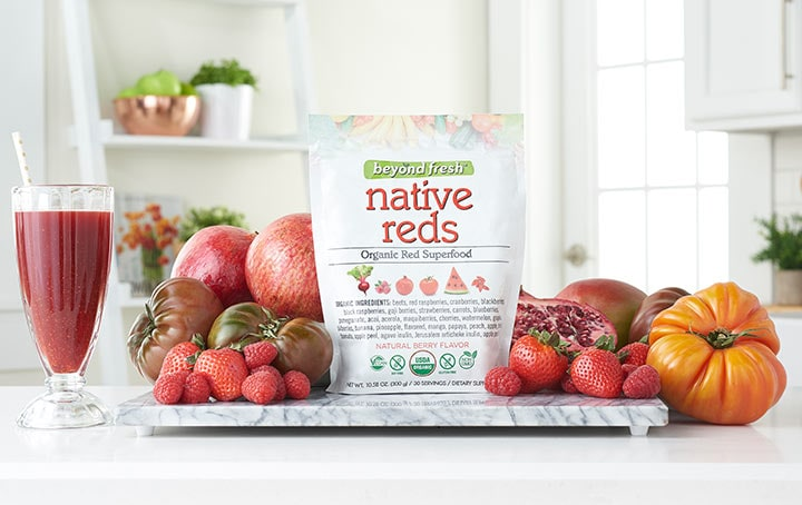 002-385 Heather Thomson Superfoods Native Reds Certified Organic Superfood Powder (Choice of Supply) at ShopHQ