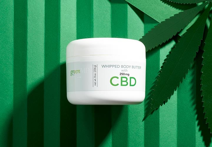 Green MD Revolution at ShopHQ - 002-556 GreenMD Whipped Body Butter 8 oz w 250 mg CBD