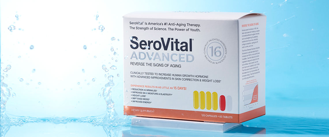 Serovital - 002-312 SeroVital Advanced Anti-Aging & Dietary Supplement (Choice of Supply)