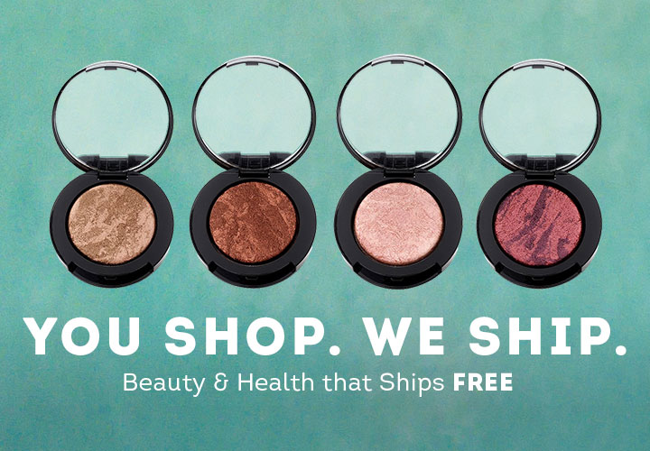 You Shop. We Ship. Beauty & Health that Ships Free -  315-627 Ready to Wear Set of 4 Fashionably Baked Dual Intensity Eye Shadows