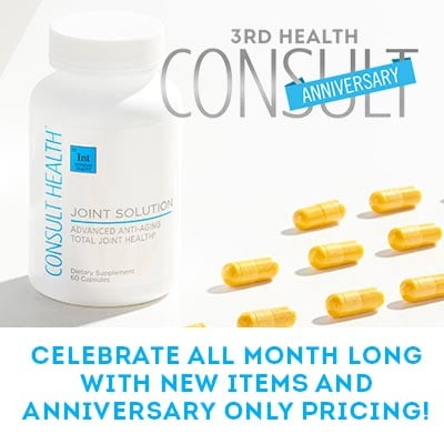 Consult Health Anniversary -  313-717 Consult Health Joint Solution Dietary Supplement (Choice of Supply)
