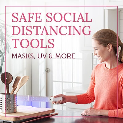 Safe Social Distancing Tools Masks, UV & More -  491-528 Medic Therapeutics UVCLED Handheld Sterilizer Wand