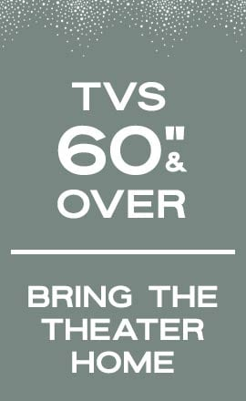 Tvs 60 inches and over | Bring the Theater Home at ShopHQ