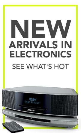 New Arrivals in Electronics - See What's HOT  472-397- Bose Wave SoundTouch IV Wi-Fi & Bluetooth Music System Zoom In Zoom Out Reset Image  Wave SountTouch Music System     472-397 Bose Wave SoundTouch IV Wi-Fi & Bluetooth Music System