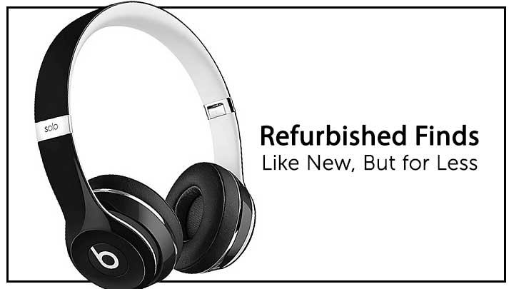 Refurbished Finds Like New, But for Less 486-210 Beats Solo2 Luxe Edition Wired On-Ear Headphones - Refurbished