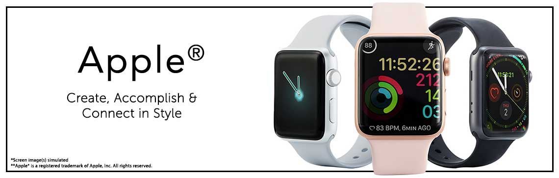 Apple®  Create, Accomplish & Connect in Style 494-886 Apple® Watch Series 5 (GPS) 44mm Aluminum Case w Sport Band & Charger