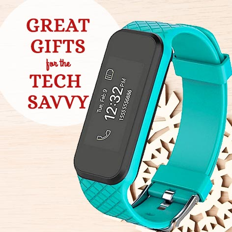Great Gifts For The Tech Savy Custom Tech Gifts  478-495 3Plus HR Activity Tracker