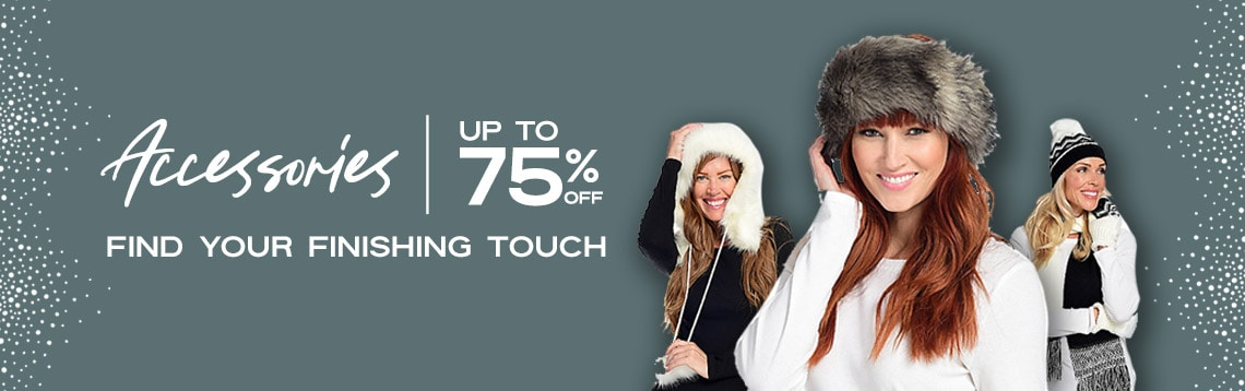 Up to 75% OFF Accessories Find Your Finishing Touch at ShopHQ
