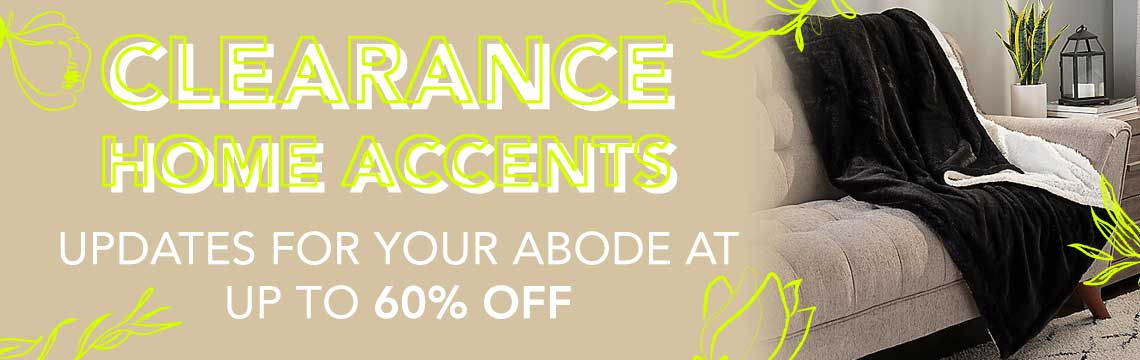 Clearance Home Accents