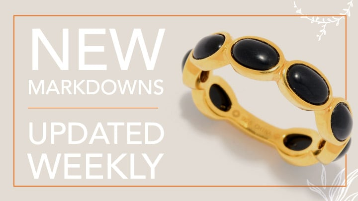 New Markdowns Updated Weekly