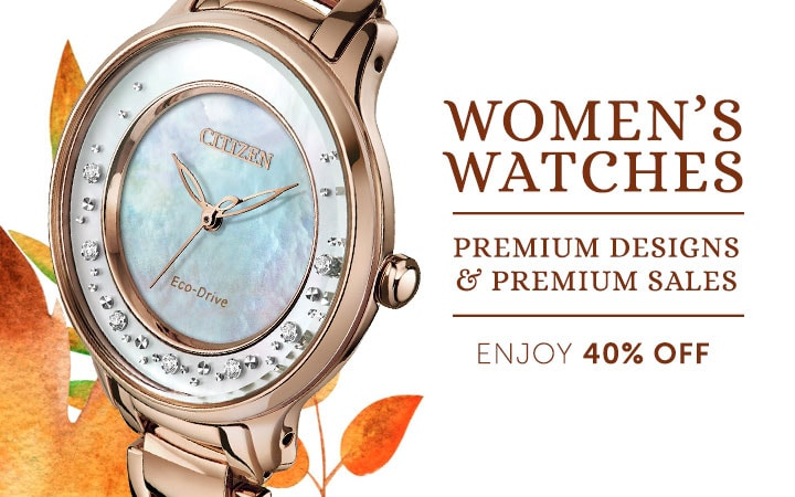 674-276 Citizen Women's 30mm Eco-Drive Citizen L Circle of Time Diamond Accented Bracelet Watch