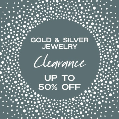Clearance Gold & Silver Jewelry Up to 50% OFF