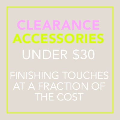 Clearance Accessories - Under $30
