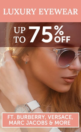 Luxury Eyewear Ft. Burberry, Versace, Marc Jacobs & More Up to 75% Off