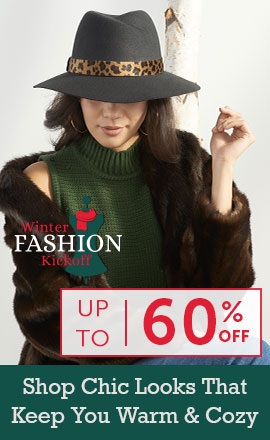 Winter Fashion Kickoff - Up to 60% Off   Shop Chic Looks That Keep You Warm & Cozy