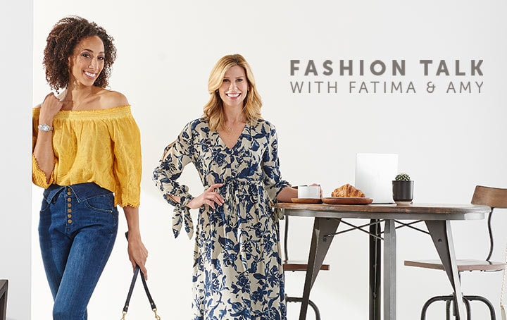 Fashion Talk with Amy & Fatima