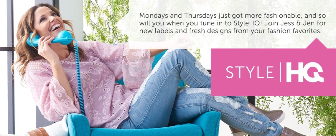 Mondays and Thursdays just got more fashionable, and so will you when you tune in to StyleHQ!